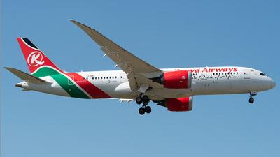 5Y-KZE - Boeing 787-8 Dreamliner - Kenya Airways