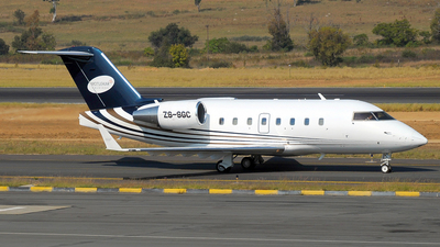 ZS-SGC - Bombardier CL-600-2B16 Challenger 601-3A - ExecuJet Aviation