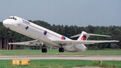 HB-ISX - McDonnell Douglas MD-83 - Crossair
