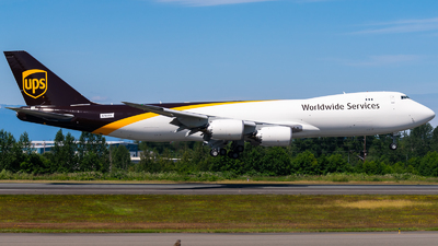 N784TD - Boeing 747-84AF - United Parcel Service (UPS)
