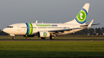 A picture of PHXRY - Boeing 7377K2 - Transavia - © kevin.hackert