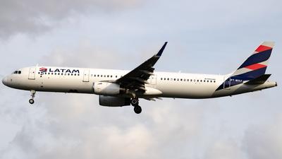 PT-MXJ - Airbus A321-231 - LATAM Airlines