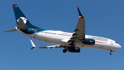 A picture of XAAMC - Boeing 737852 - Aeromexico - © Antonio Velasco (MAS Aviation Press)