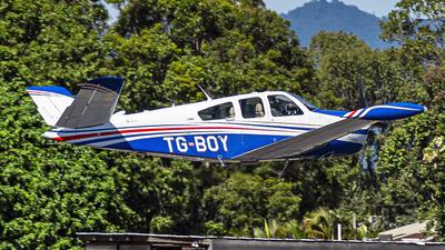 TG-BOY - Beechcraft V35B Bonanza - Private
