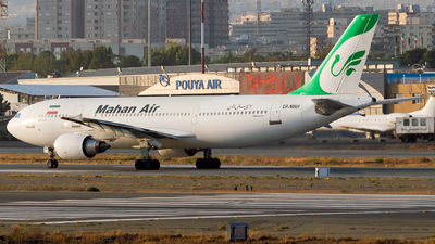 A picture of EPMNH - Airbus A300B4603 - Mahan Air - © Mohammad Rozve