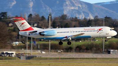 OE-LVM - Fokker 100 - Austrian Airlines