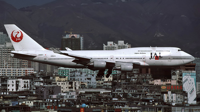 JA8911 - Boeing 747-446 - Japan Airlines (JAL)