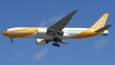 9V-OTA - Boeing 777-212(ER) - Scoot