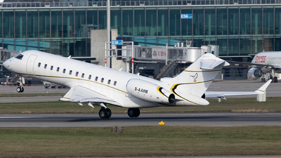 A picture of DAAHB - Bombardier Global Express - MHS Aviation - © Joel Basler