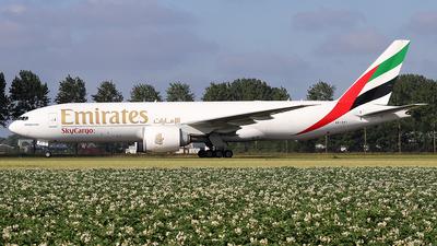 A picture of A6EFI - Boeing 777F1H - Emirates - © Simon Reichert