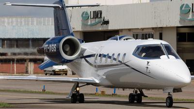 PT-XGS - Bombardier Learjet 60 - Private
