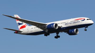 A picture of GZBJK - Boeing 7878 Dreamliner - British Airways - © Sascha Brissier