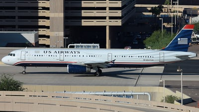 N547UW - Airbus A321-231 - US Airways