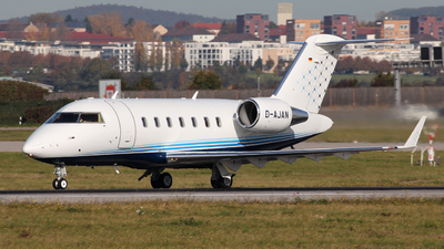A picture of DAJAN - Bombardier Challenger 605 - DCAviation - © Marco Wolf