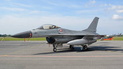 E-107 - General Dynamics F-16AM Fighting Falcon - Denmark - Air Force