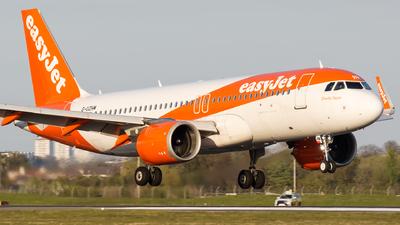 G-UZHM - Airbus A320-251N - easyJet