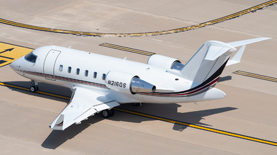 A picture of N216QS - Bombardier Challenger 650 - NetJets - © Jose R. Ortiz