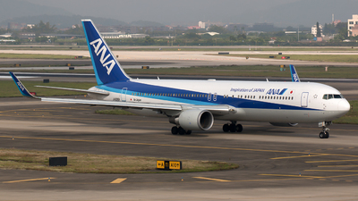 JA626A - Boeing 767-381(ER) - All Nippon Airways (ANA)