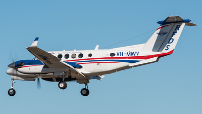 VH-MWV - Beechcraft B200 Super King Air - Ambulance Service of NSW (RFDS)