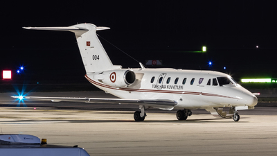 93-004 - Cessna 650 Citation VII - Turkey - Air Force