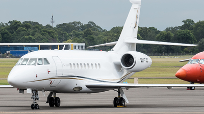 A picture of VHFJO - Dassault Falcon 2000 - [27] - © Jayden Laing