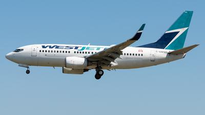 C-GWSQ - Boeing 737-7CT - WestJet Airlines
