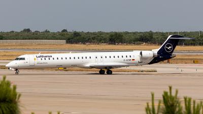 A picture of DACNM - Mitsubishi CRJ900LR - Lufthansa - © Giuseppe Gattullo - Plane Spotters Bari