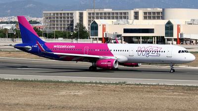 G-WUKL - Airbus A321-231 - Wizz Air UK
