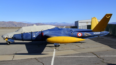 N355F - Fouga CM-170 Magister - Private