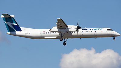 A picture of CGTWE - De Havilland Canada Dash 8400 - WestJet - © Keeper1