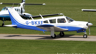 A picture of GBKXF - Piper PA28R200 - [28R7335351] - © Terry Figg