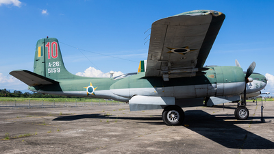 FAB5159 - Douglas B-26B Invader - Brazil - Air Force