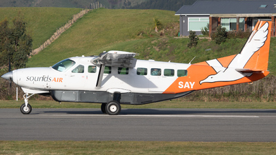 ZK-SAY - Cessna 208B Grand Caravan - Sounds Air