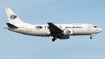 PK-YGW - Boeing 737-33A(SF) - Tri-MG Intra Asia Airlines