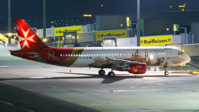 9H-AEO - Airbus A320-214 - Malta MedAir