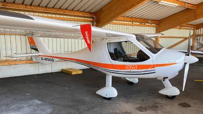 D-MSGD - Flight Design CTSW - Segelfliegergruppe Tannheim