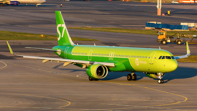 VQ-BDW - Airbus A321-271NX - S7 Airlines