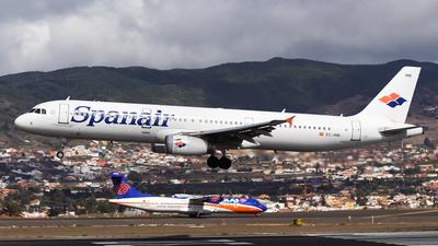 EC-INB - Airbus A321-231 - Spanair
