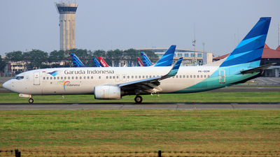 PK-GEM - Boeing 737-8AS - Garuda Indonesia