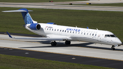 A picture of N551GJ - Mitsubishi CRJ550 - United Airlines - © Andrew Hutnyan