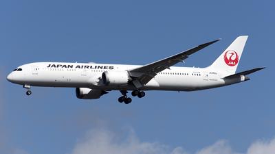 JA862J - Boeing 787-9 Dreamliner - Japan Airlines (JAL)