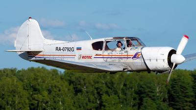 RA-0792G - Yakovlev Yak-18T - Private