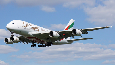 A6-EDG - Airbus A380-861 - Emirates
