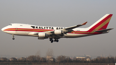 A picture of N403KZ - Boeing 747481F - Kalitta Air - © SEN BAI