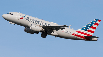 A picture of N776XF - Airbus A319112 - American Airlines - © Gautham Kurup