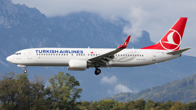 TC-JHA - Boeing 737-8F2 - Turkish Airlines