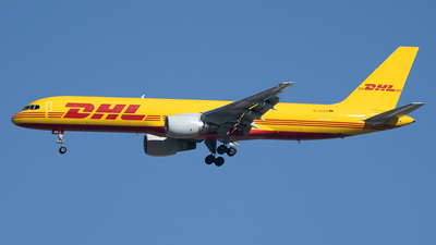 A picture of DALER - Boeing 7572Q8(PCF) - DHL - © Diego Navarro