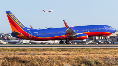 N8641B - Boeing 737-8H4 - Southwest Airlines