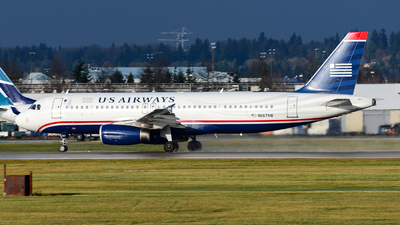 N667AW - Airbus A320-232 - US Airways