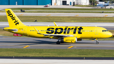 A picture of N626NK - Airbus A320232 - Spirit Airlines - © Martin Rogosz